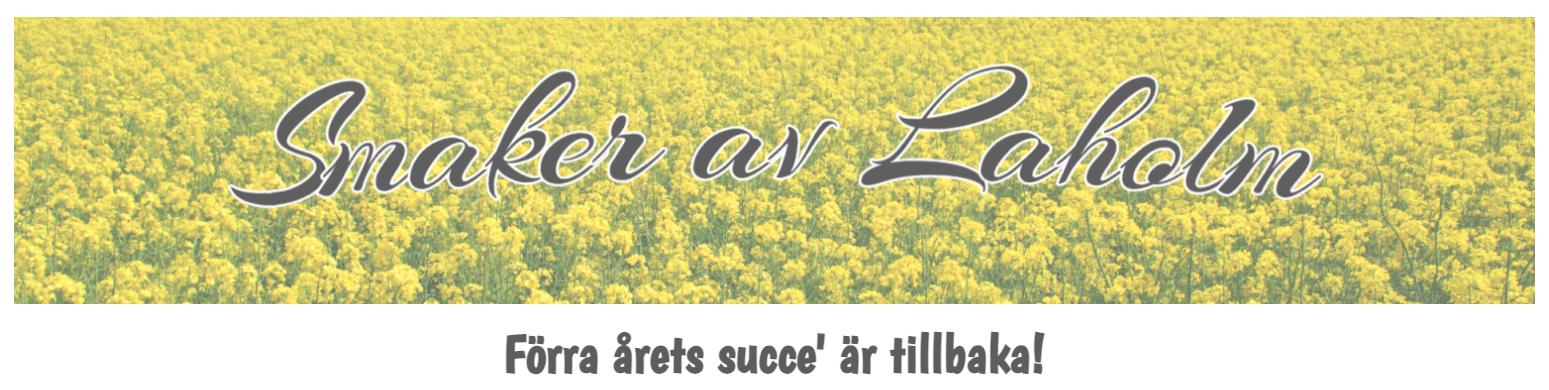smaker av laholm-logo